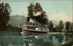 "Steamer ""Idaho"" on the Water"