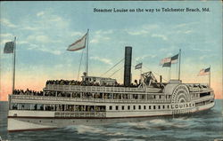 Steamer Louise on the Water Postcard
