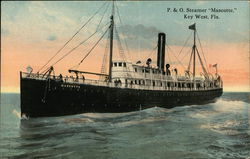 "P & O Steamer ""Mascotte"" on the Water"