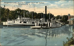 Saugerties Creek, showing Steamer Ulster and Airline