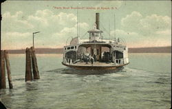 Ferry Boat Rockland landing