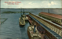 Bird's Eye View of Wharf