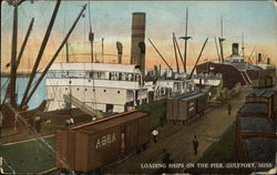 Loading Ships on the Pier