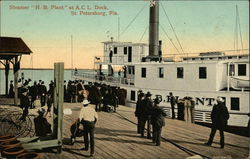 "Steamer ""HB Plant"" at ACL Dock"