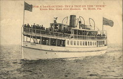 "For a Days Outing - Try a Trip on the ""Dixie"""