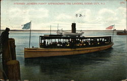 "Steamer ""Somer's Point"" Approaching the Landing"