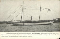 "Steam Yacht ""Mermaid"""