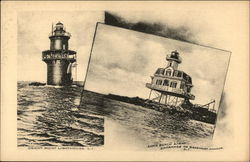 Orient Point Lighthouse and Long Beach Light