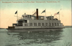 Narragansett Transportation Company's Ferry Boat Narragansett