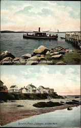 Steamer Carlotta and Cottages at Little Neck