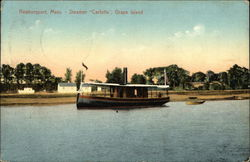"Steamer ""Carlotta"" near Grape Island"