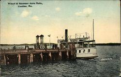 Wharf & Steamer Anna Belle
