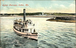 Lubec Narrows Postcard