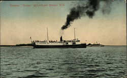"Steamer ""Seulac"" on the Water"