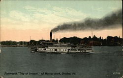 "Steamboat ""City of Chester"" off Marcus Hook"
