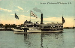 Steamer Wilmington on the Water