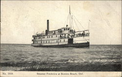Steamer Frederica at Bowers Beach