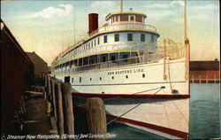 Steamer New Hampshire, New Bedford Line