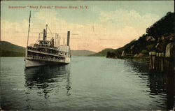 "Steamboat ""Mary Powell"" on the Water"