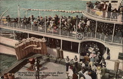 Cetus Crowds Going On Excursion Boat for Coney Island