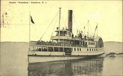 "Steamer ""Keansburg"" on the Water"