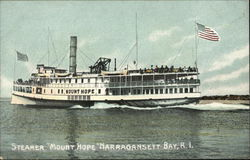 Steamer Mount Hope Postcard