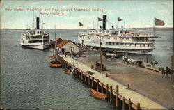New Harbor New York and New London Steamboat Landing