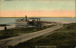 Scenic View of Doughty's Landing Postcard