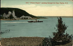 "SS ""Prince Rupert"" passing through the Gap"