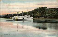 Steamer Kennebec on the Kennebec River