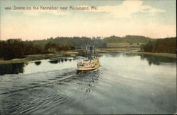 Scene on the Kennebec