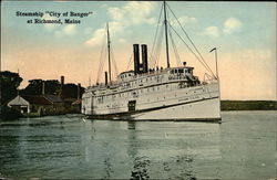 "Steamship ""City of Bangor"""