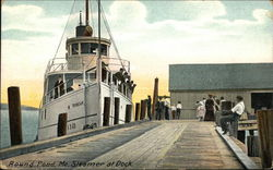 Steamer at Dock
