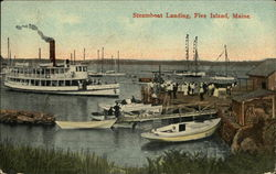 View of Steamboat landing