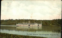"The New Steamer ""City of Augusta"""