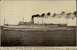 "NYP & N RR Steamer ""Maryland"""
