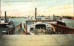 Ferryboats to Portsmouth & Berkley