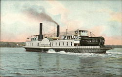 "Steamer ""Hercules"" on the Water"