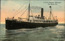 P & O Steamer Mascotte on the Water