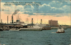Section of Norfolk Harbor
