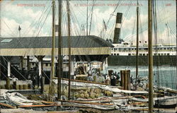 Shipping Scene at Old Dominion Wharf