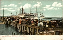 Arrival of Boat, Cottage City