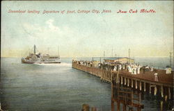 Steamboat Landing, Departure of Boat