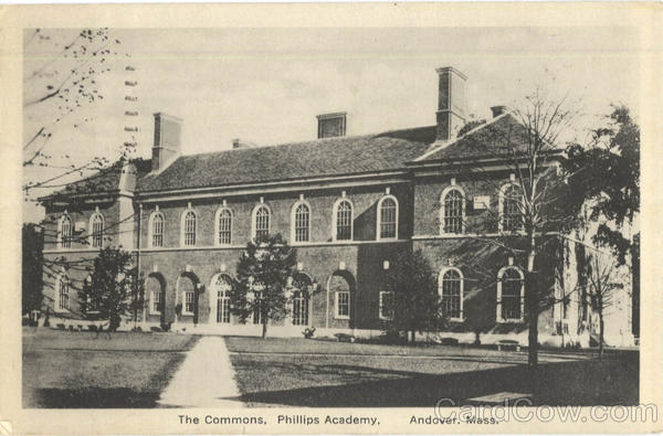 The Commons Phillips Academy Andover Massachusetts