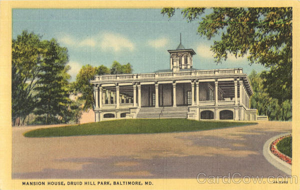 Mansion House, Druid Hill Park Baltimore Maryland