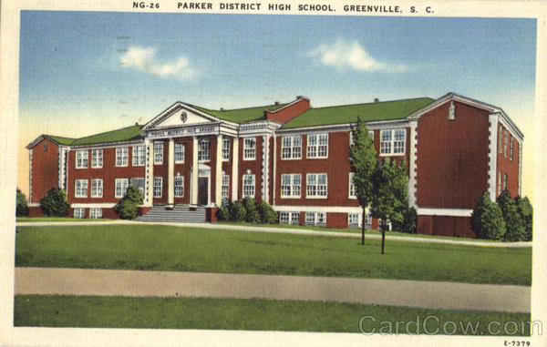 Parker District High School Greenville South Carolina
