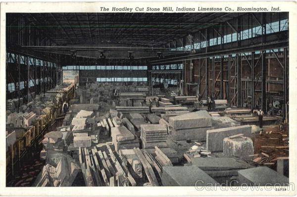 The Hoadley Cut Stone Mill Bloomington Indiana