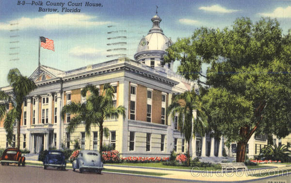 Polk County Court House Bartow Florida
