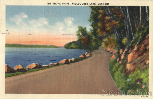 The Shore Drive, Willoughby Lake Scenic Vermont