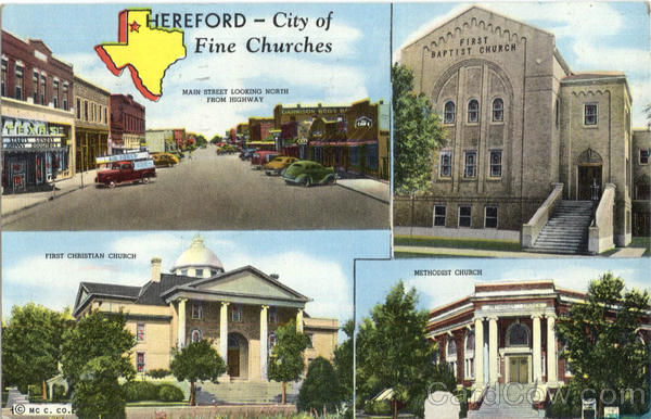 Hereford City of Fine Churches Texas